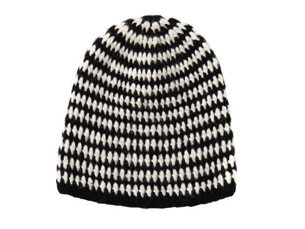 Häkelmuster: Mütze häkeln - mit Ringeln oder Streifen
