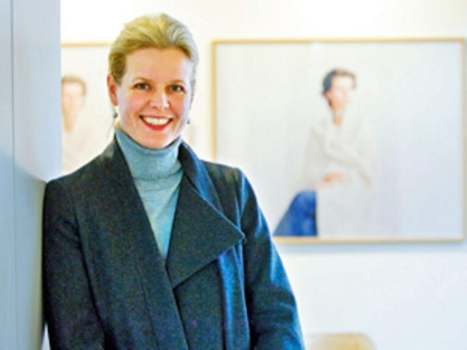 """Galeristin Susanne Breidenbach hat die """"Wimmel Attacke"""" initiiert"""
