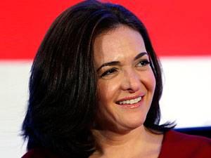 Appell der Facebook-Chefin: Sheryl Sandberg, 43, hat zwei Kinder, ist Geschäftsführerin von Facebook und eine der reichsten Frauen der Welt.
