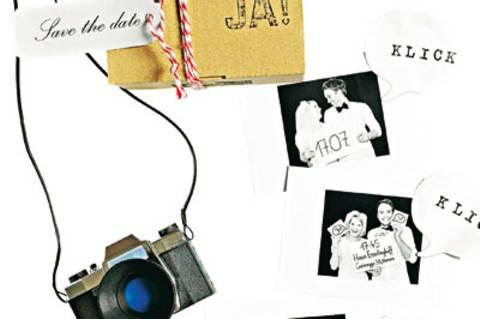 Plastiskop selber machen - als Einladung zur Hochzeit