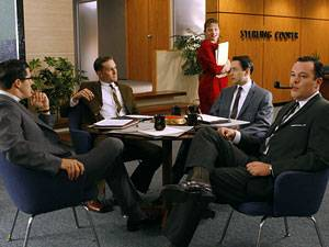 """Frauen in der Gesellschaft: """"Schmierige kleine Mannschaften"""": In vielen Büros hört man heute noch ähnliche Macho-Sprüche wie aus der Serie """"Man Men"""""""