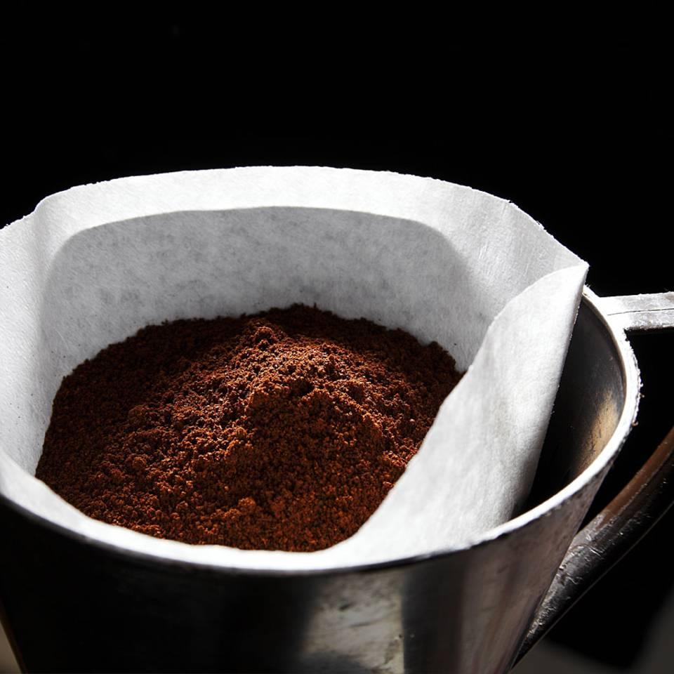 Aus diesem Grund ist der Kaffeefilter immer zu groß für die Maschine