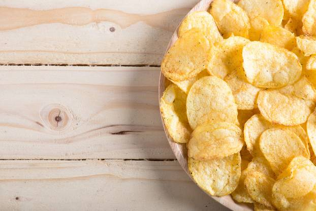 Orangenhaut: Chips