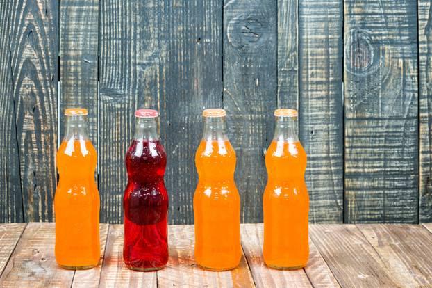 Orangenhaut: Limonade