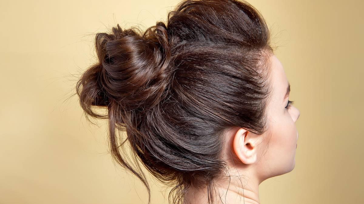 Frisuren knoten
