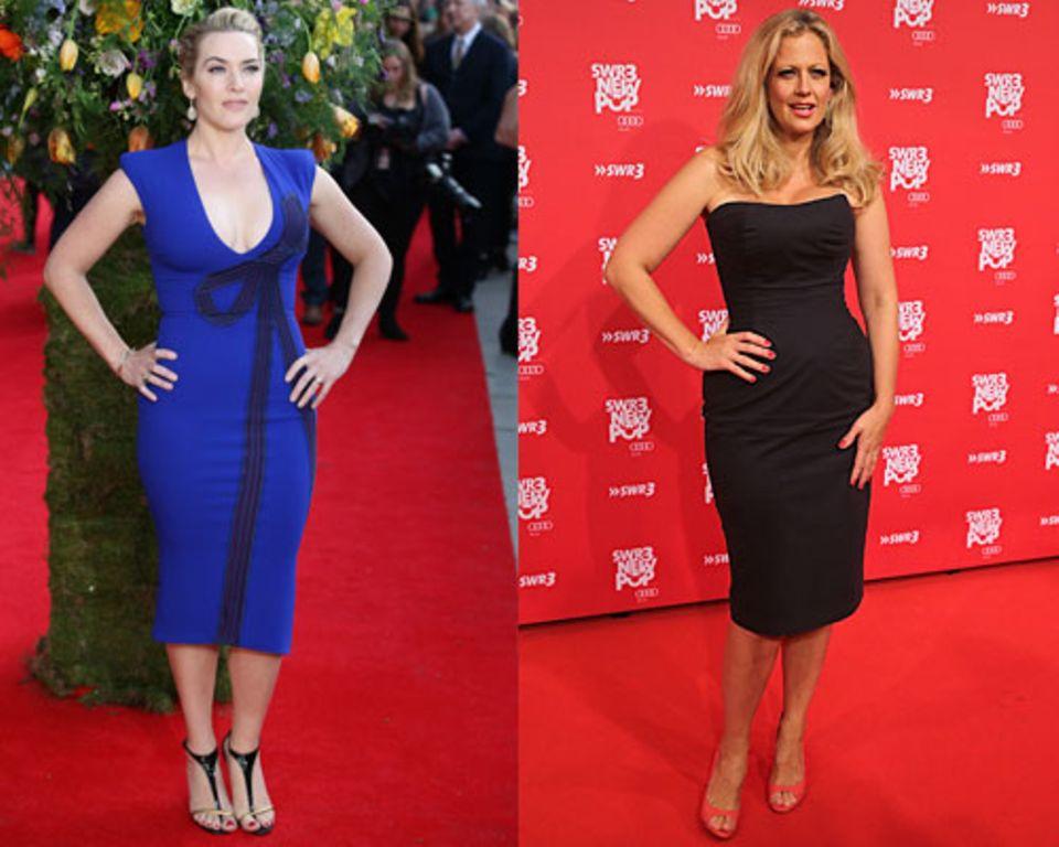 Sinnlich-kurvige Frauen wie Kate Winslet und Barbara Schöneberger sind endomorphe Typen.