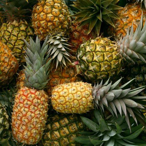 SO habt ihr eine Ananas noch nie geschnitten