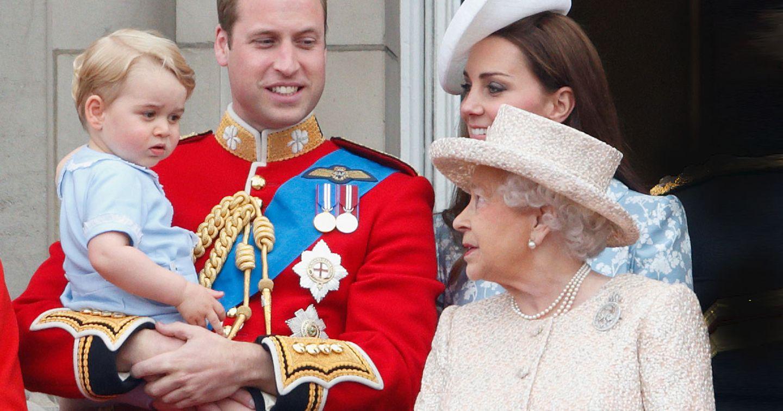Ein royales Geheimnis weniger - SO nennt Prinz George Queen Elisabeth II!