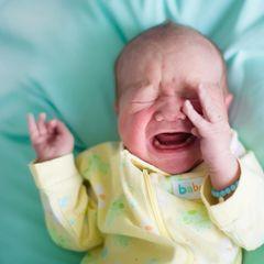 Baby schreit