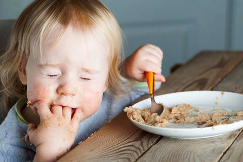 Kinder und Essen - diese 9 Typen kennt jede Mama!