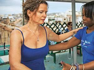 Entwicklungshilfe: Sabine Müller, 43, ist Unternehmensberaterin und lebt in München und Havanna