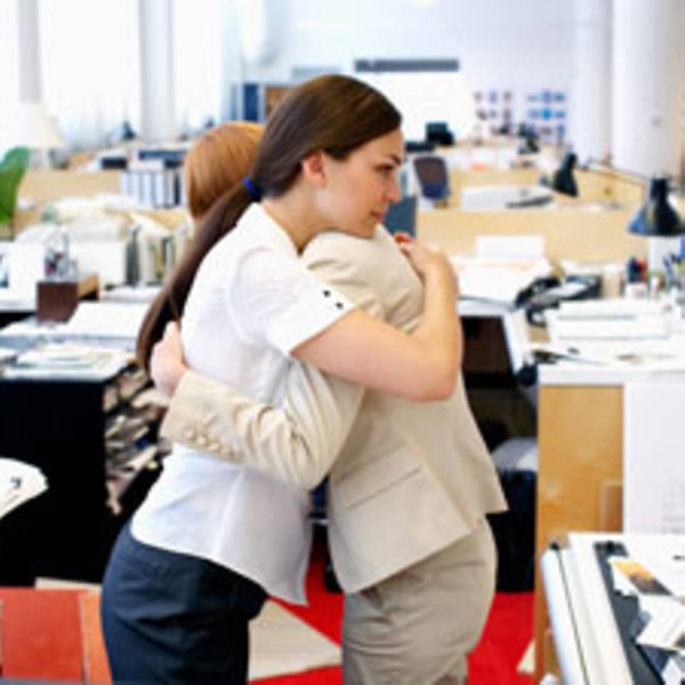 Über Probleme reden mit Kollegen: Das richtige Maß