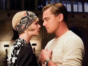 """Schauspielerin: Eine unglückliche Liebe: Daisy Buchanan (Carey Mulligan) und Jay Gatsby (Leonardo DiCaprio) in """"The Great Gatsby""""."""