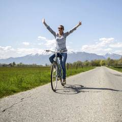 Urlaub mit dem E-Bike: Von Basel zum Lago Maggiore