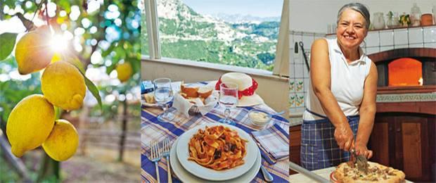 """Italien: Hier schmeckt's: Bei Pizzabäckerin Ida auf der Azienda """"Il Giardino di Vigliano"""""""