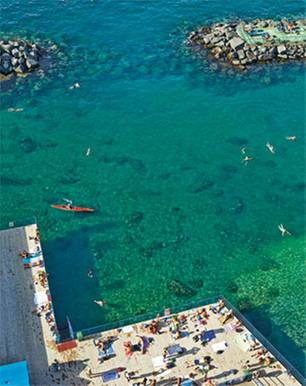 Italien: Strandleben in Sorrent