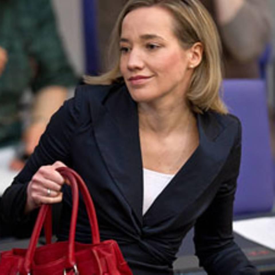 Auf dem Sprung: Bundesfamilienministerin Kristina Schröder