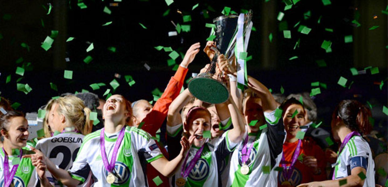 Champions League: Wolfsburg bejubelt den Sieg