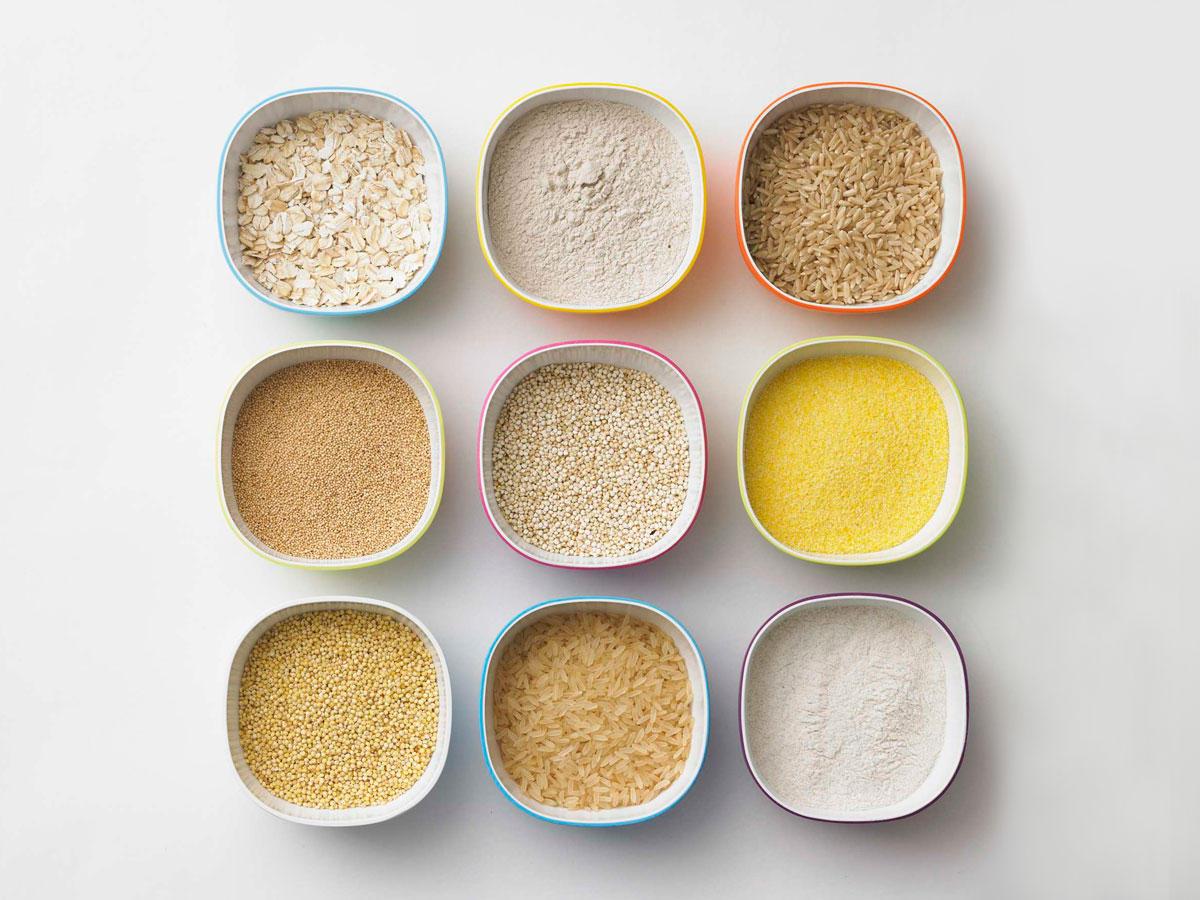 Glutenfreies Getreide - der Körner-Check