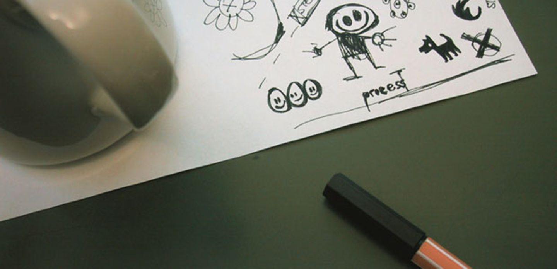 Gekritzel im Notizblock: Was es über die Persönlichkeit aussagt