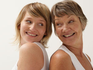 Abnehmen im Alter - immer gut in Form!