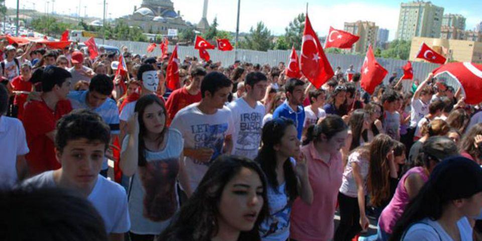 """Demonstranten in Istanbul: """"Die Kontrolle der Regierung ist unerträglich geworden."""""""