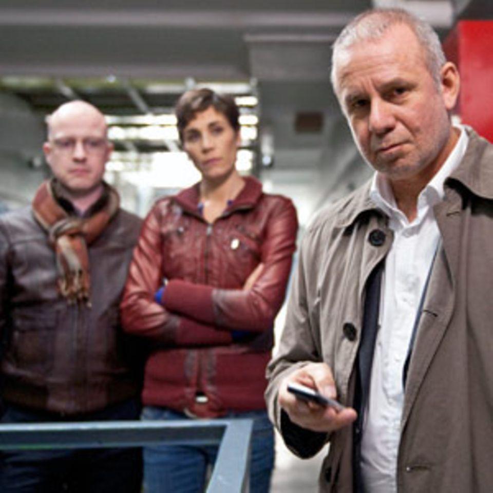 Ob Kommissar Frank Steier (Joachim Król) in Zukunft ohne Conny Mey auskommen wird?