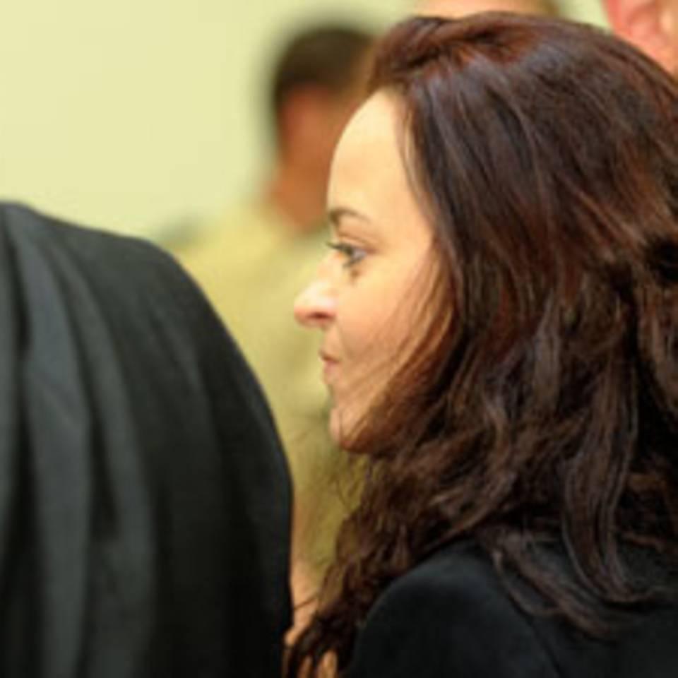 Beate Zschäpe am 24. Juni im Prozesssaal in München