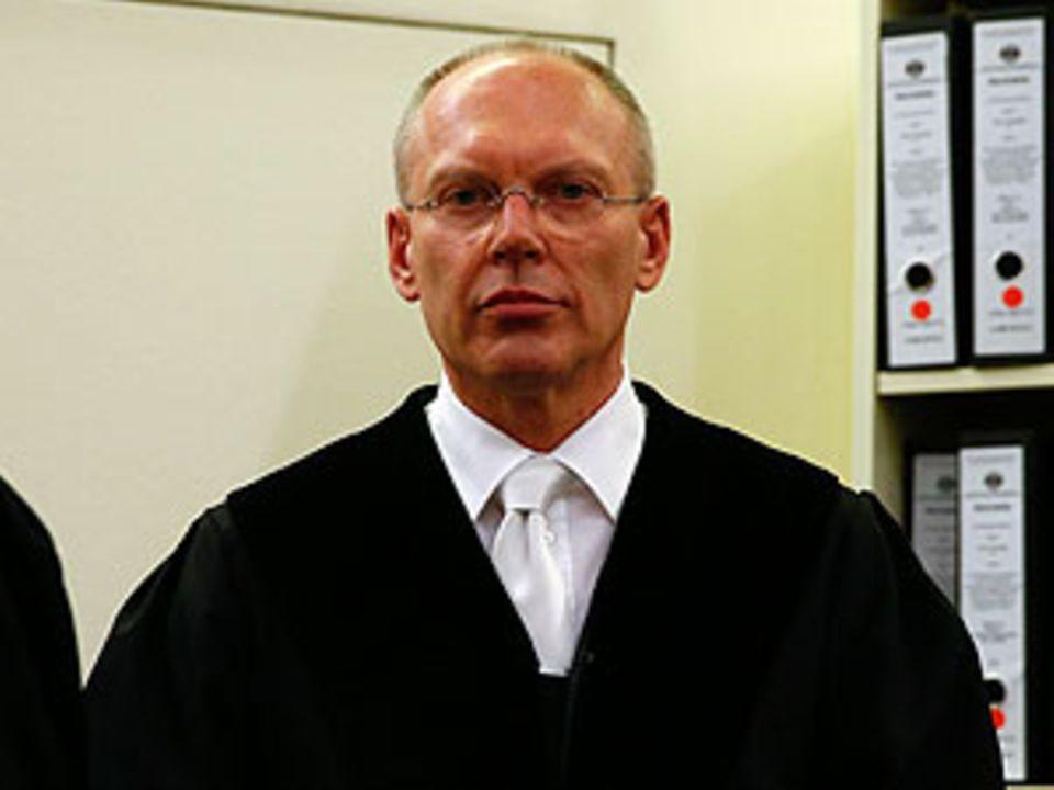 Manfred Götzl, Vorsitzender Richter im NSU-Prozess