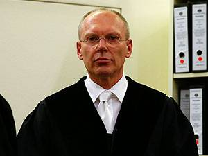 Zweite Verhandlungswoche in München: Manfred Götzl, Vorsitzender Richter im NSU-Prozess