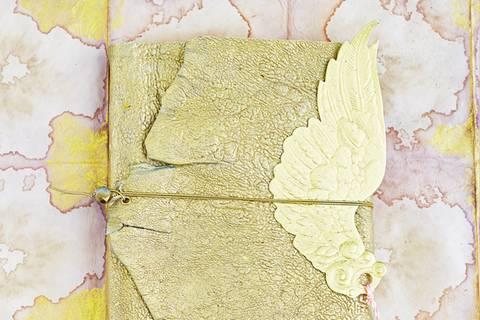 Notizbuch mit Ledereinband selber machen