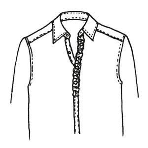 Schnittmuster: Rüschen nähen - eine Anleitung zum Selbermachen