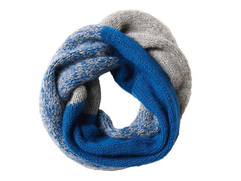 Einfacher Loop-Schal - Anleitung zum Nachstricken