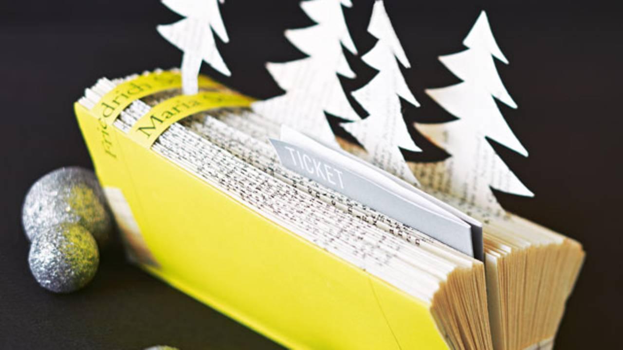 Geschenkverpackung Tickets Verpacken Schone Hulle Fur