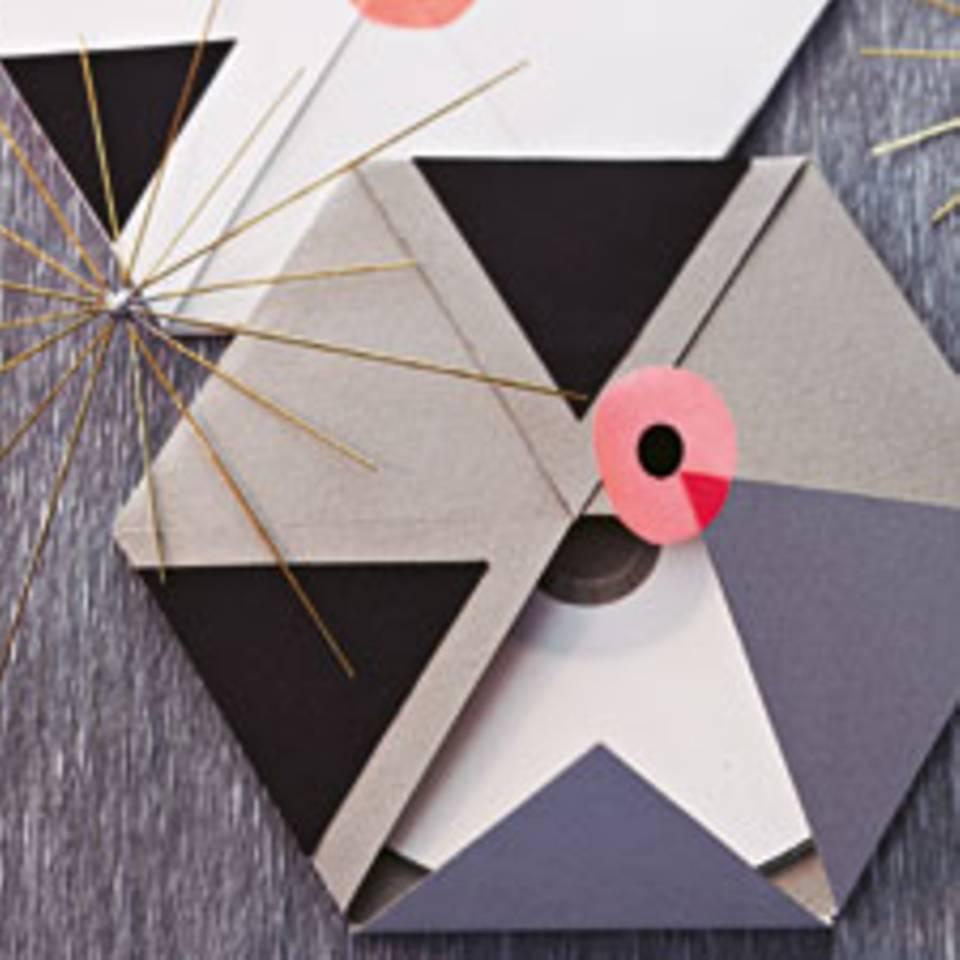 CDs verpacken - einfache Hülle zum Nachbasteln