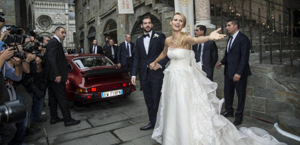 Die berühmtesten Brautpaare des Jahres 2014