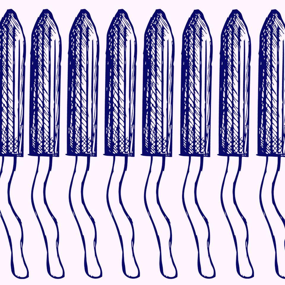 Wenn der Tampon zum Verhängnis wird: Tampon Grafik
