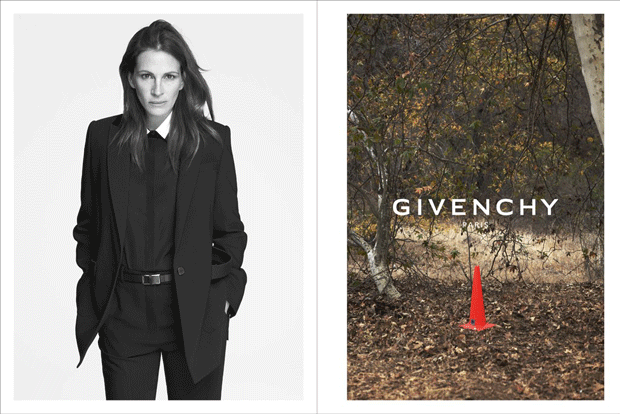 Kampagne: Julia Roberts modelt für Givenchy