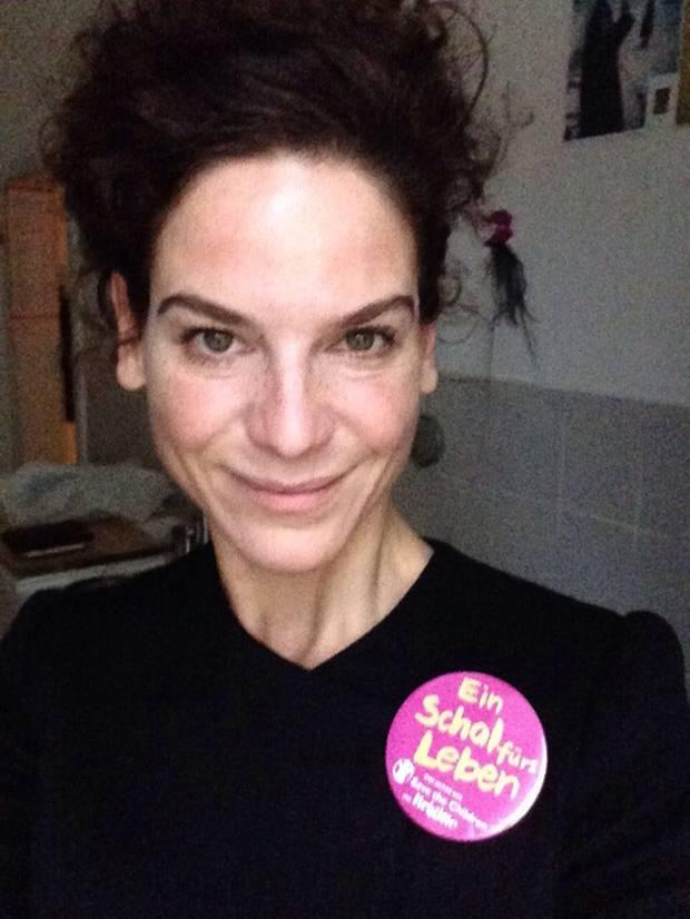 Aktionstag am 10. Dezember: Schauspielerin Bibiana Beglau