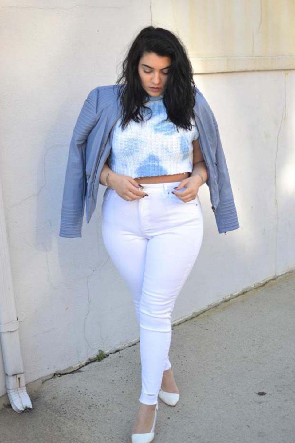 Nadia Aboulhosn liebt ihren Körper