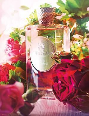 """""""Rose in Wonderland"""" von Atkinsons, Eau de Parfum, 100 ml ca. 130 Euro"""