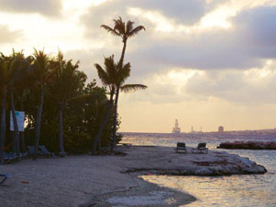 """Curaçao: Die Abendstimmung im """"Royal Sea Aquarium Resort"""" ist unwirklich schön"""