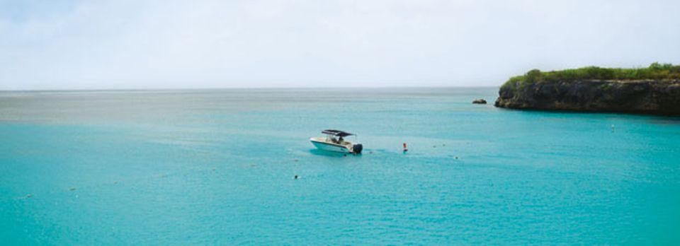 Curaçao: am Grote-Knip-Strand hat man beste Fernsicht