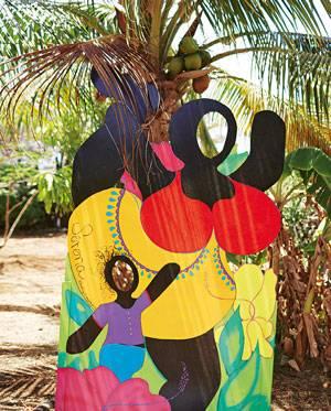 """Curaçao: bei """"Serena's Art Factory"""" gibt es Skulpturen"""