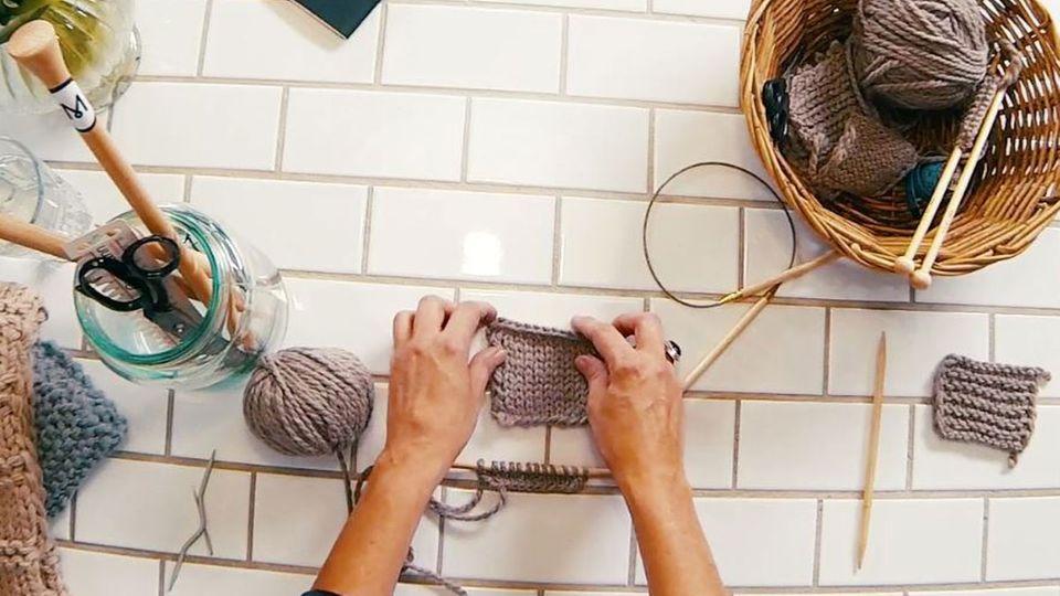 Kurzarmpulli stricken - eine Anleitung