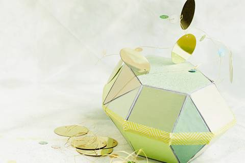 Diamant-Kiste basteln - eine Anleitung