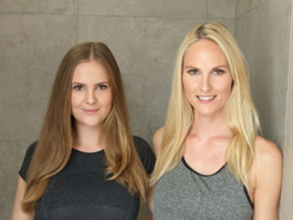 Die Schwestern Linda (links) und Kaya Stork haben Lagree Fitness nach Deutschland geholt