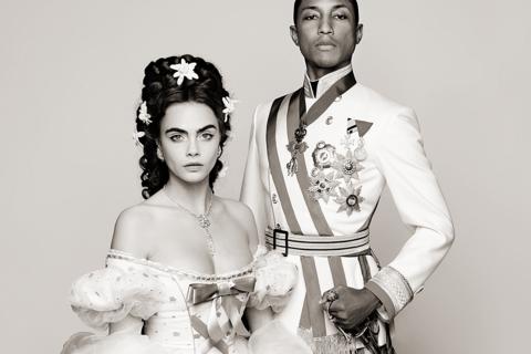 Cara Delevingne und Pharrell Williams werden für Chanel zu Sissi und Franz