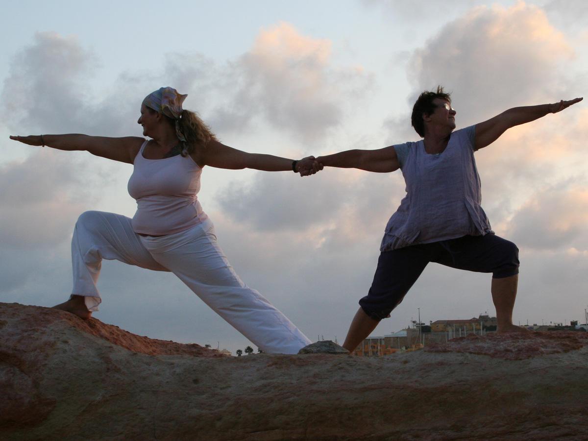 Ist Yoga auch etwas für schwere Menschen?