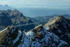 """Auf dem """"Peak Walk"""" von Gipfel zu Gipfel"""
